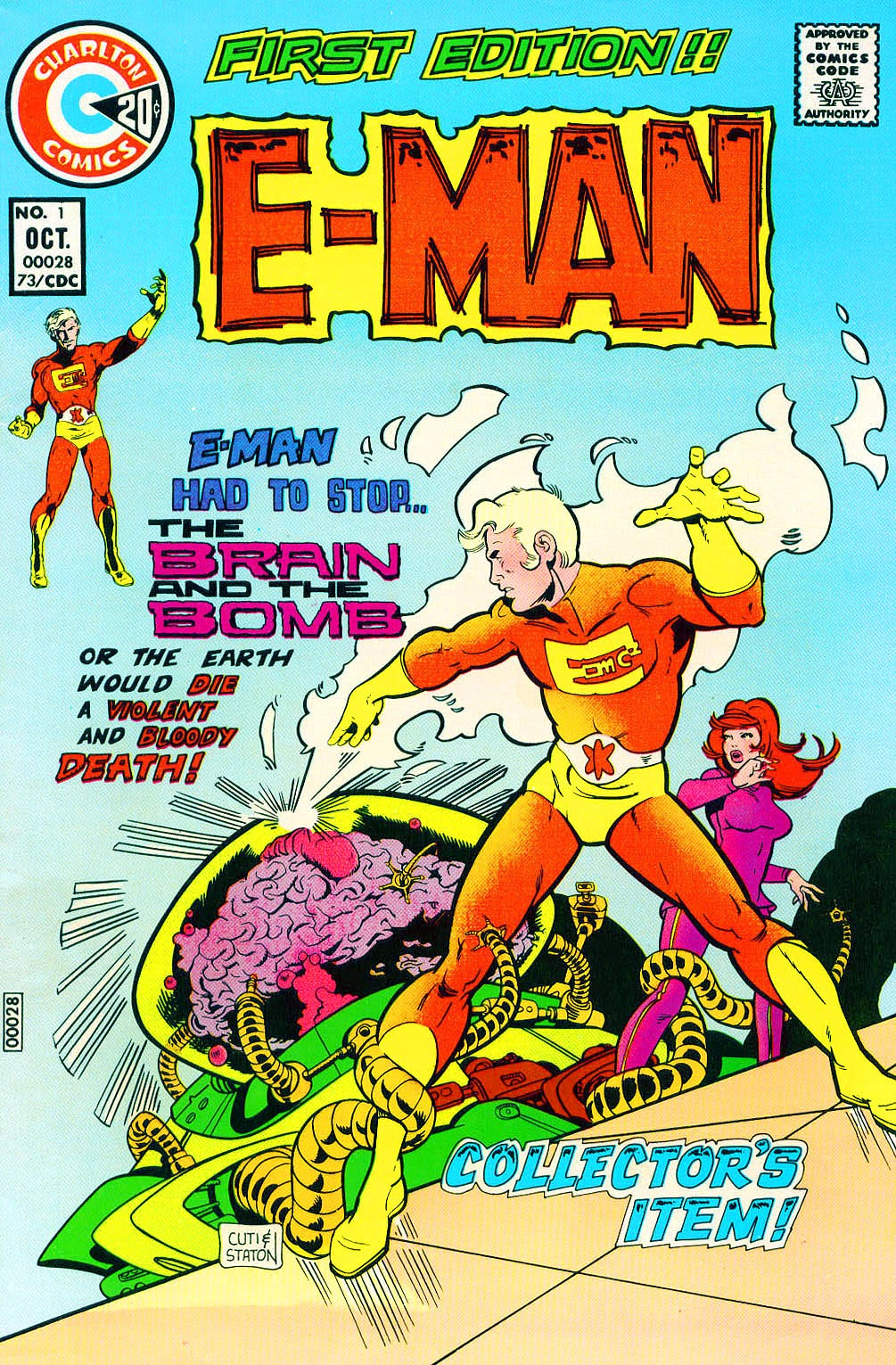 E-Man (1973) issue 1 - Page 1