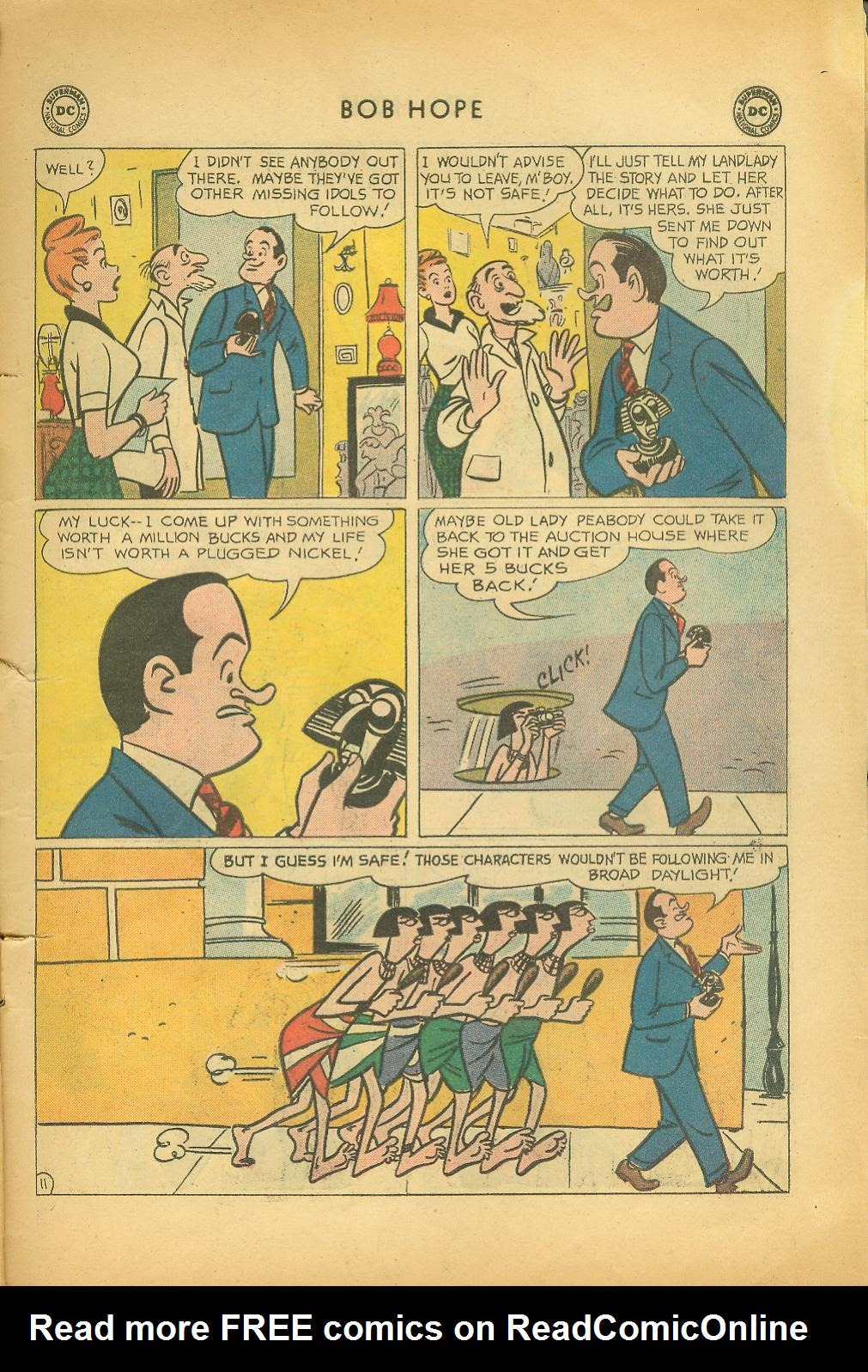 The Adventures of Bob Hope issue 64 - Page 15