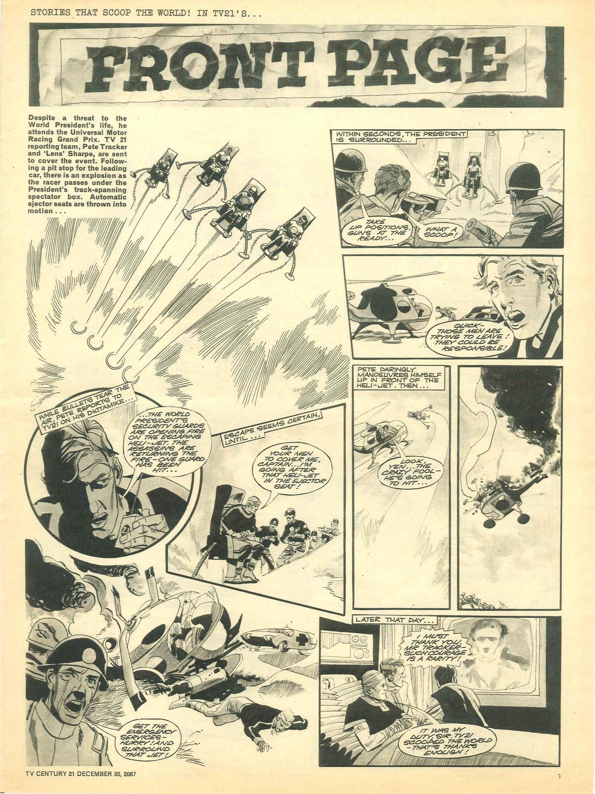 Read online TV Century 21 (TV 21) comic -  Issue #154 - 7