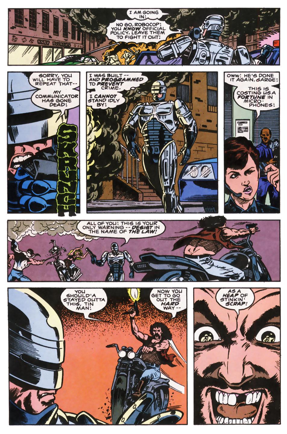 Read online Robocop (1990) comic -  Issue #10 - 19