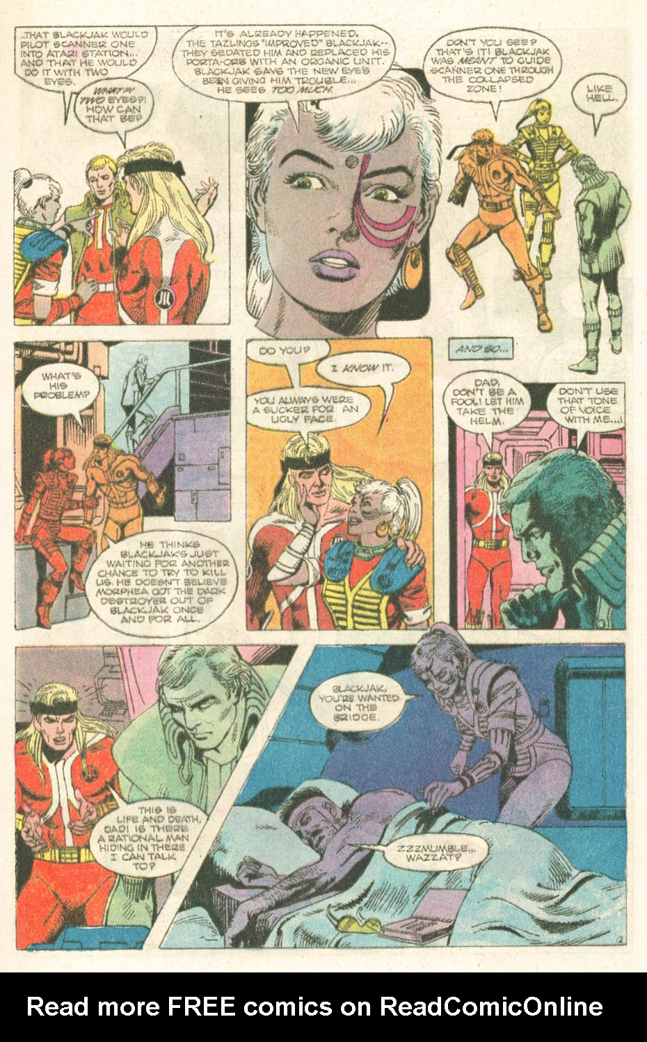 Read online Atari Force (1984) comic -  Issue #18 - 14