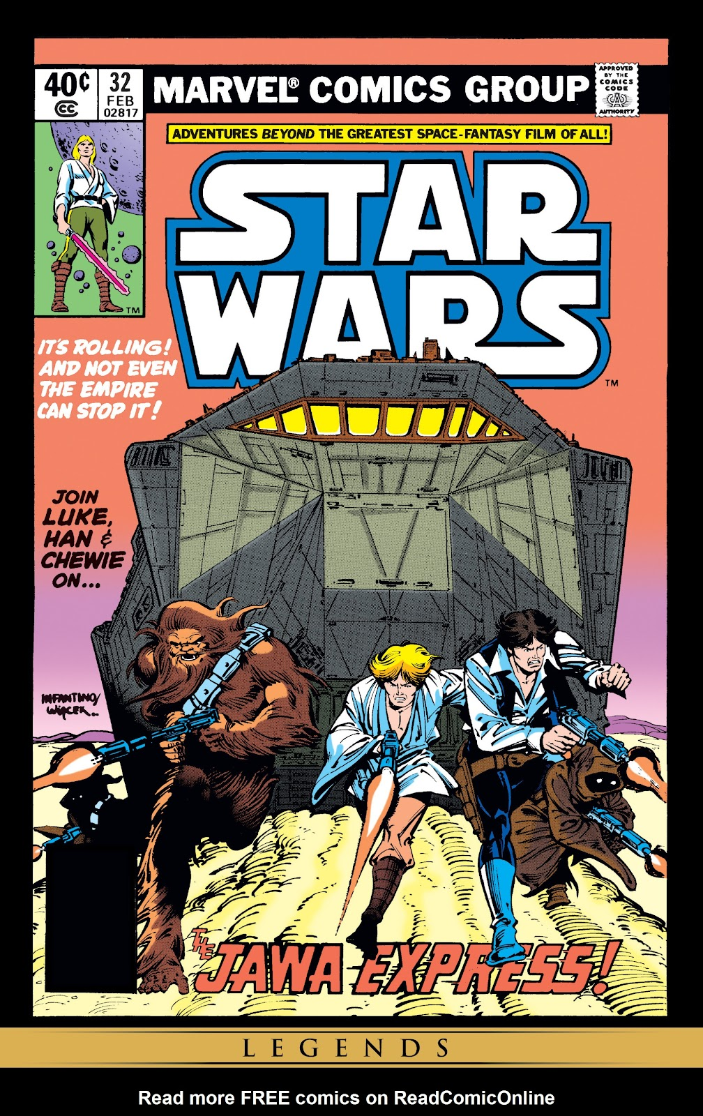 Read online Star Wars Legends: The Original Marvel Years - Epic Collection comic -  Issue # TPB 2 (Part 2) - 49