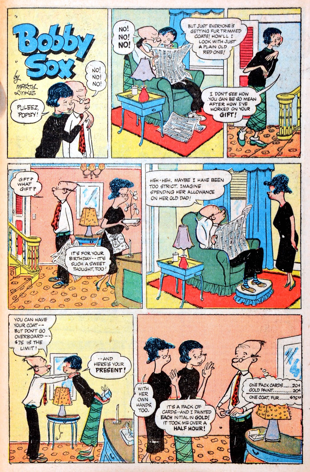 Read online Famous Funnies comic -  Issue #194 - 48