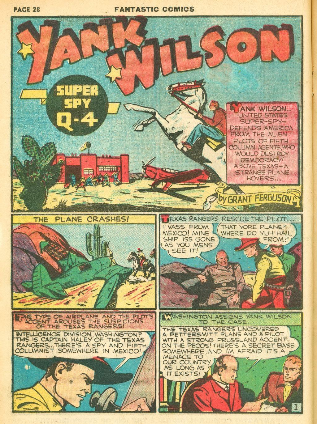 Read online Fantastic Comics comic -  Issue #12 - 30