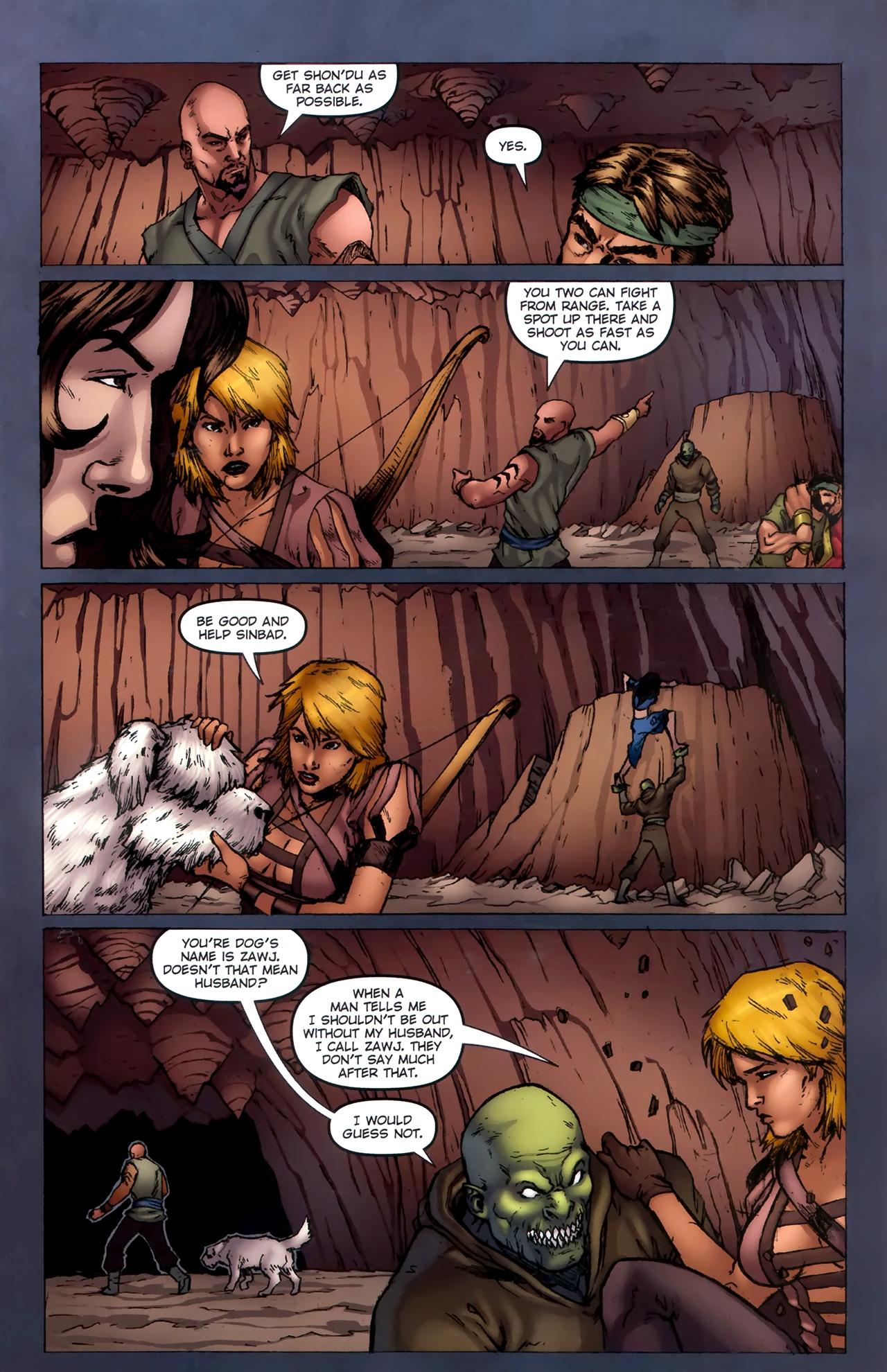 Read online 1001 Arabian Nights: The Adventures of Sinbad comic -  Issue #11 - 7