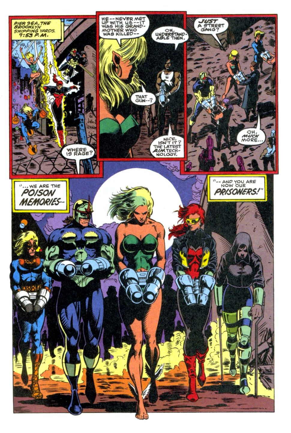 The New Warriors Issue #37 #41 - English 21