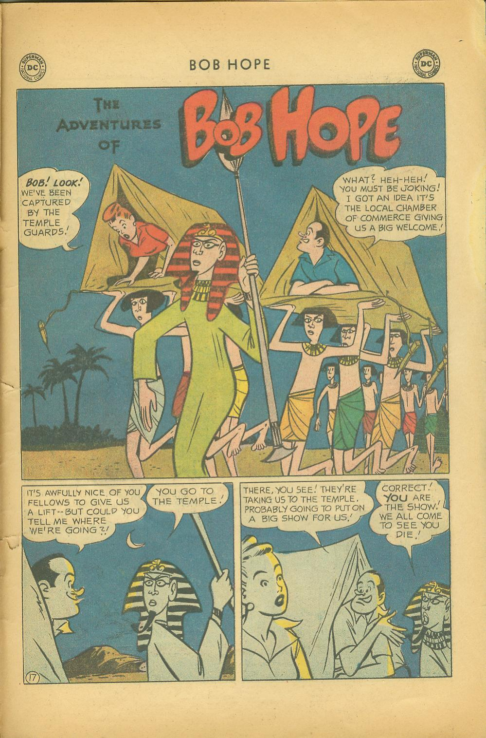 The Adventures of Bob Hope issue 64 - Page 23