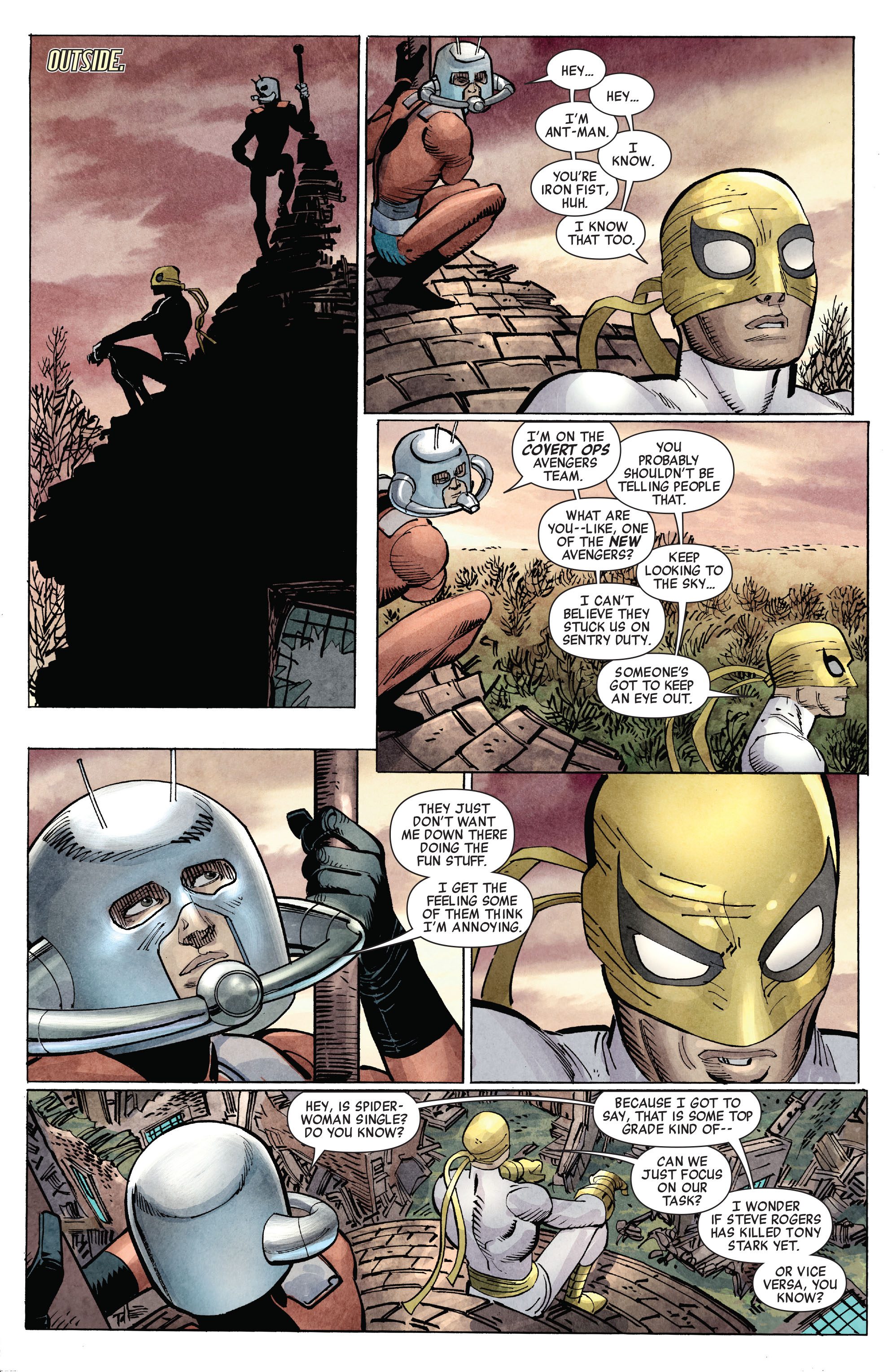 Read online Avengers (2010) comic -  Issue #10 - 15