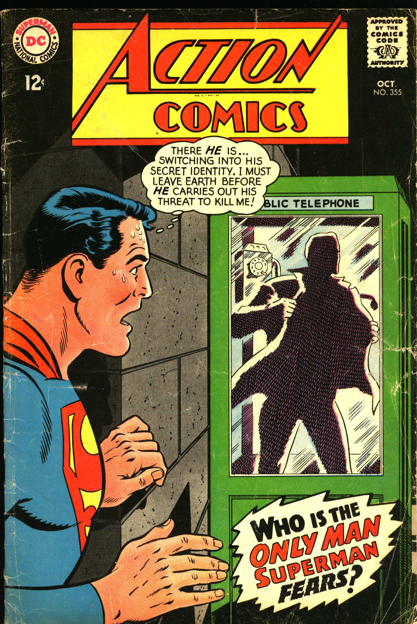 Action Comics (1938) 355 Page 0