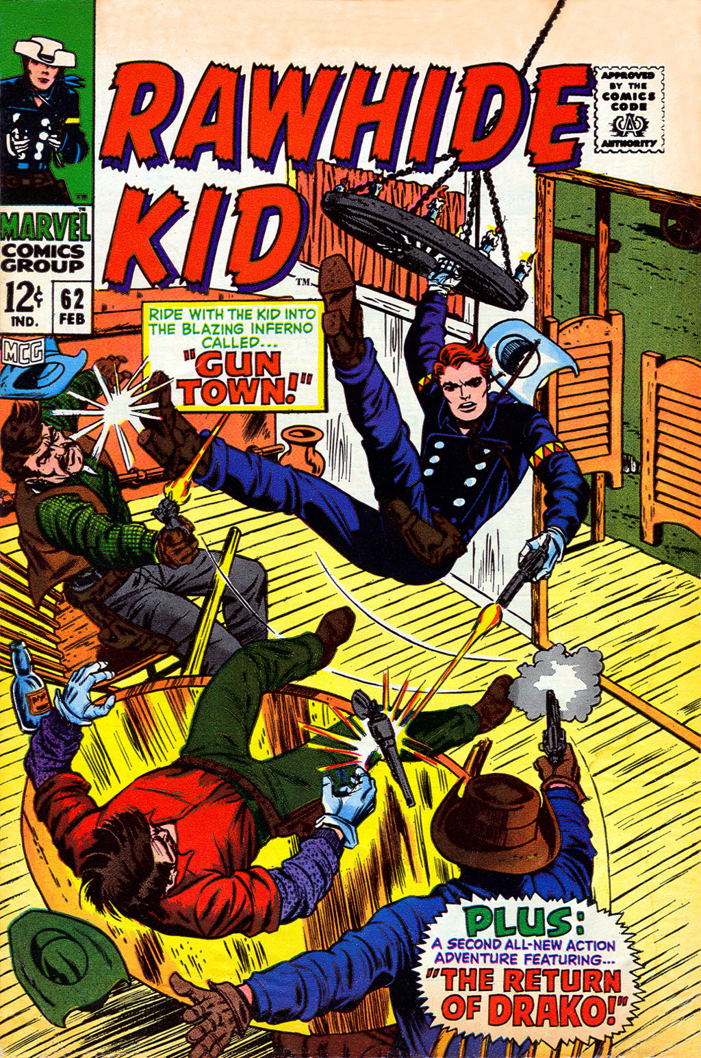 The Rawhide Kid (1955) issue 62 - Page 1