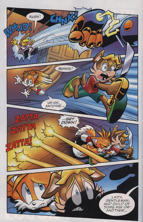 Read online Sonic Universe comic -  Issue #19 - 22