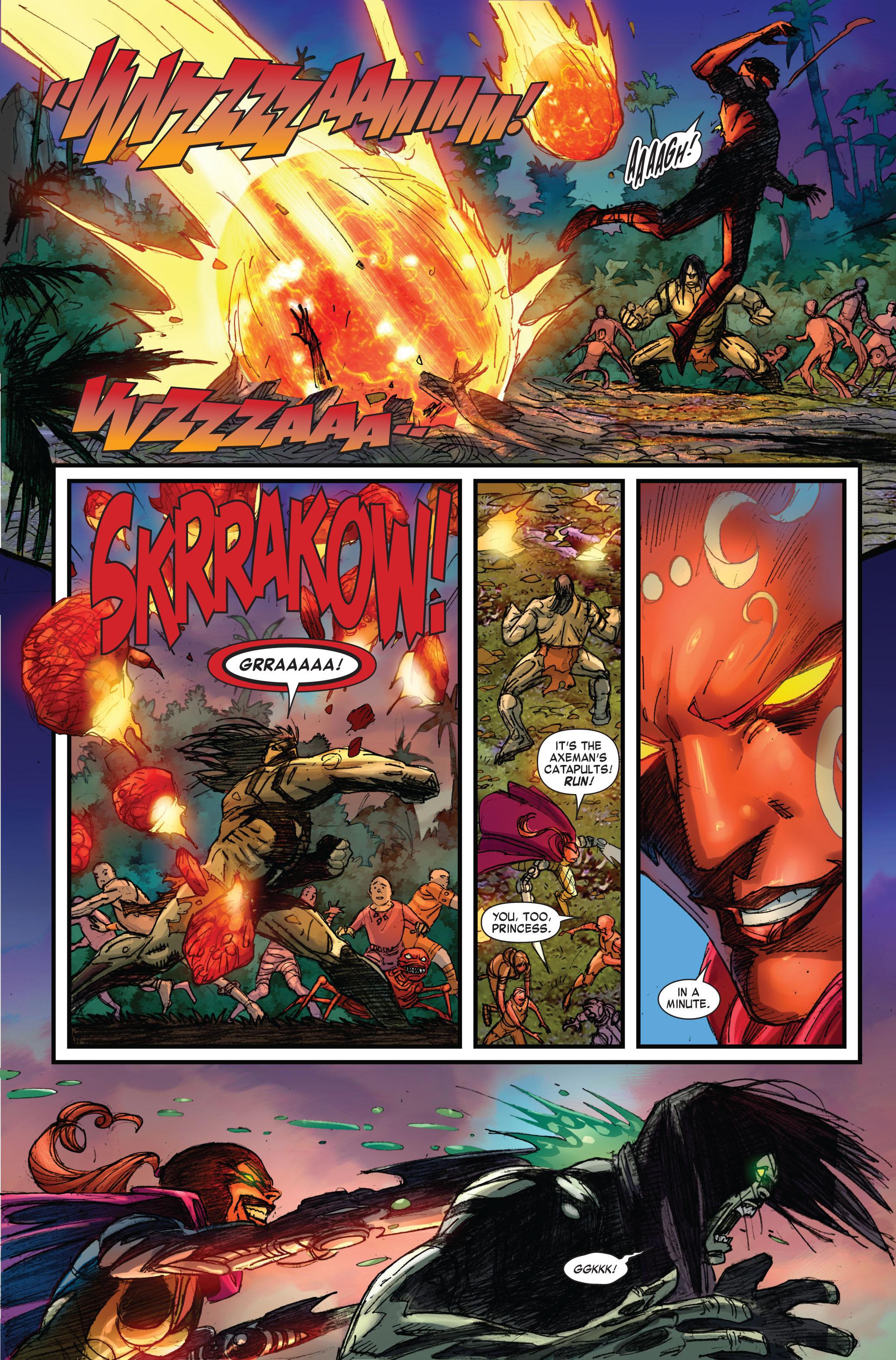 Read online Skaar: Son of Hulk comic -  Issue #3 - 6
