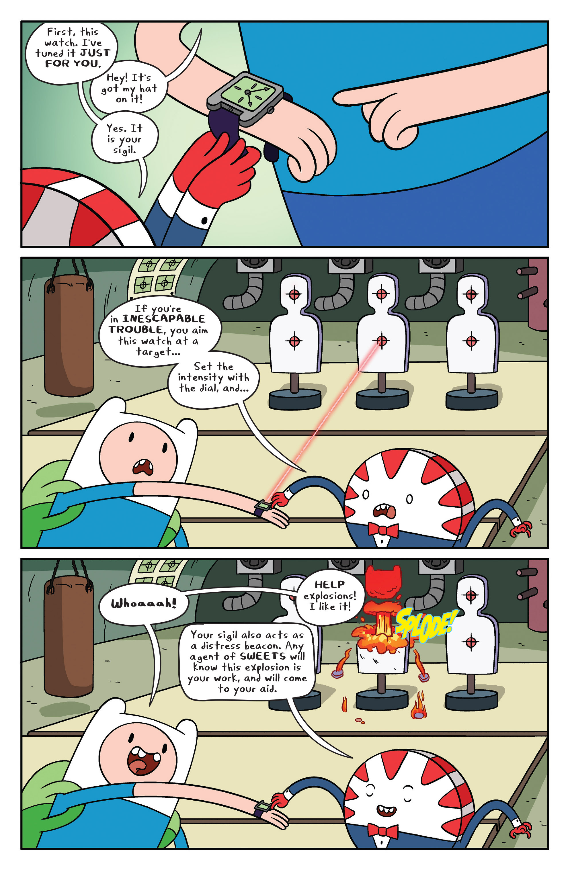 Read online Adventure Time comic -  Issue #41 - 13