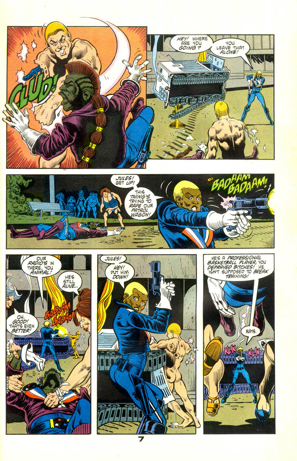 Read online American Flagg! comic -  Issue #24 - 29