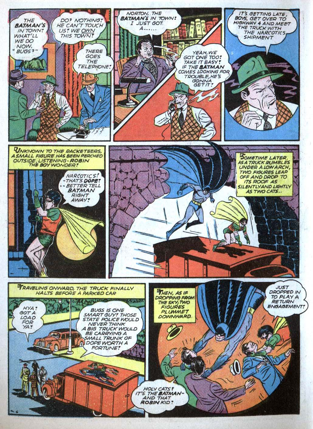 Read online Detective Comics (1937) comic -  Issue #43 - 8