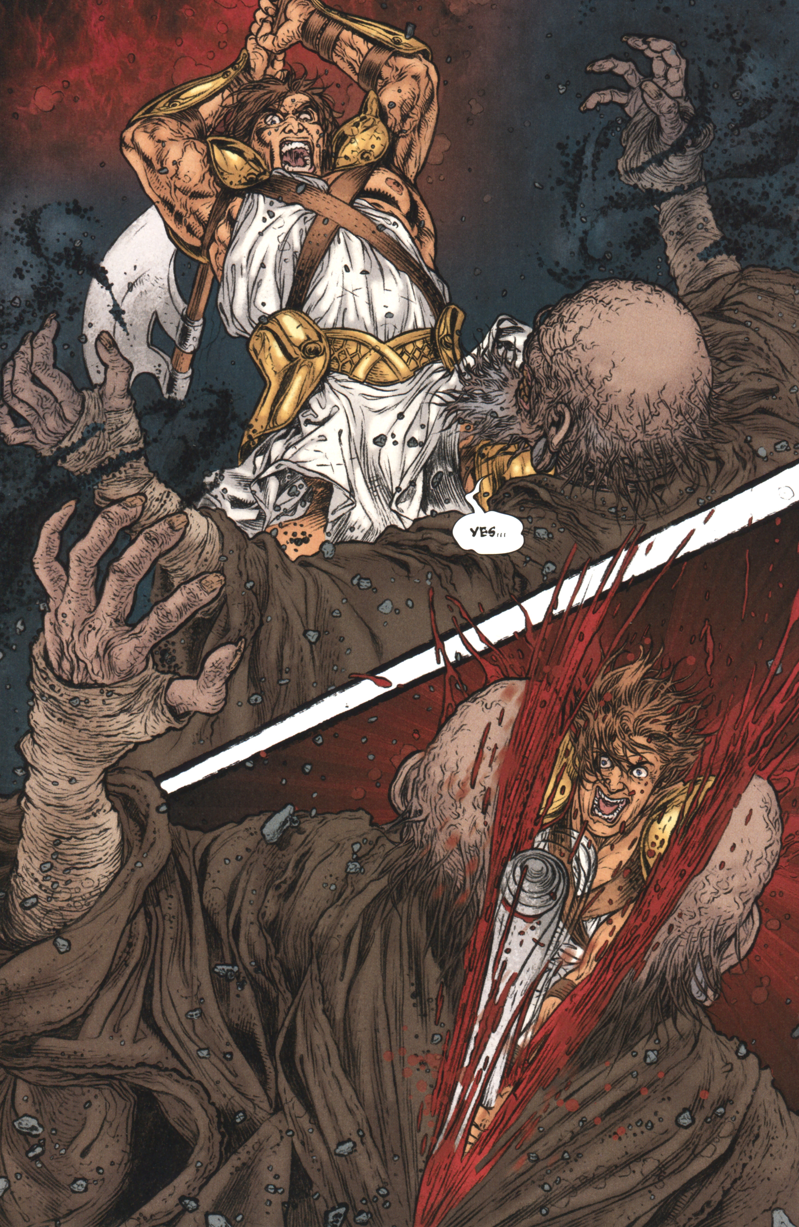 Read online Book of Death: Legends of the Geomancer comic -  Issue #4 - 17