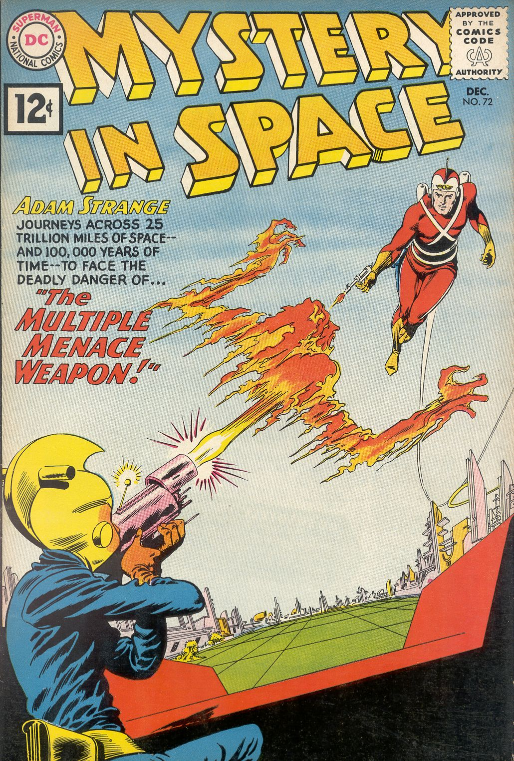 Mystery in Space (1951) issue 72 - Page 1