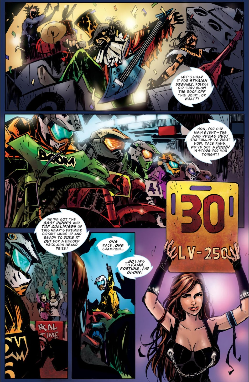 Read online Dead Rising: Road to Fortune comic -  Issue #3 - 7