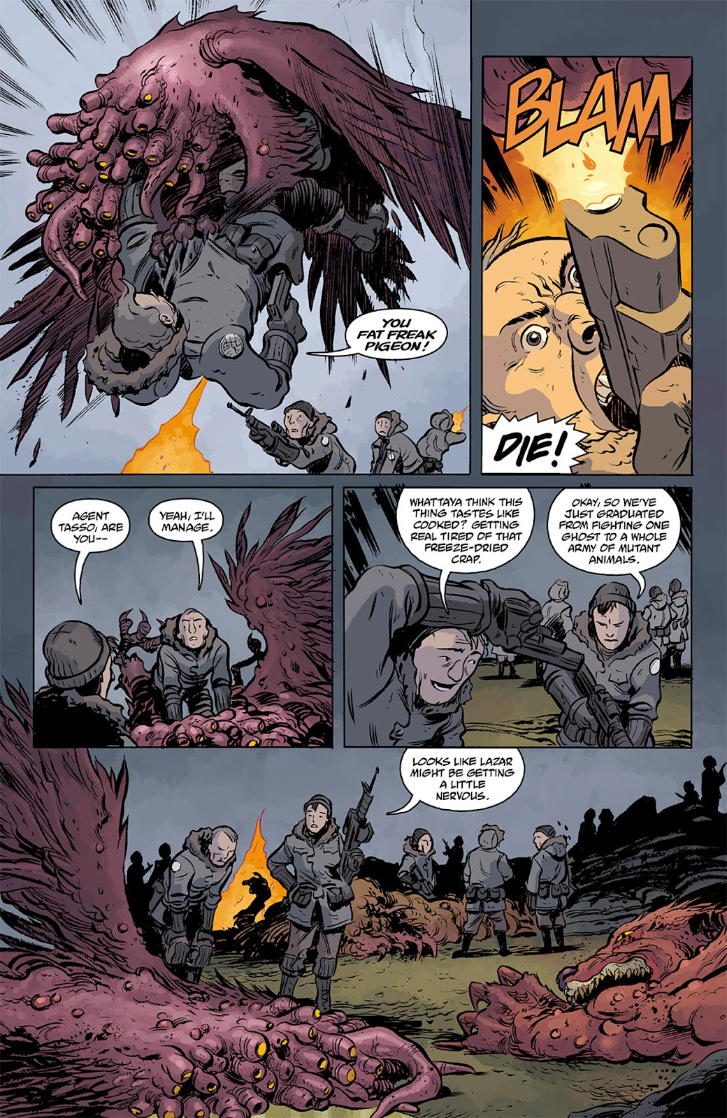 Read online B.P.R.D. Hell on Earth: The Return of the Master comic -  Issue #3 - 10