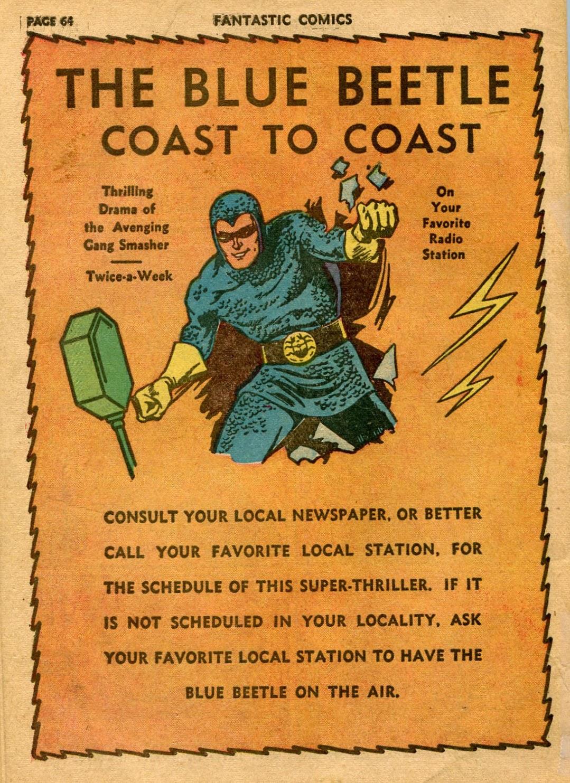 Read online Fantastic Comics comic -  Issue #21 - 62