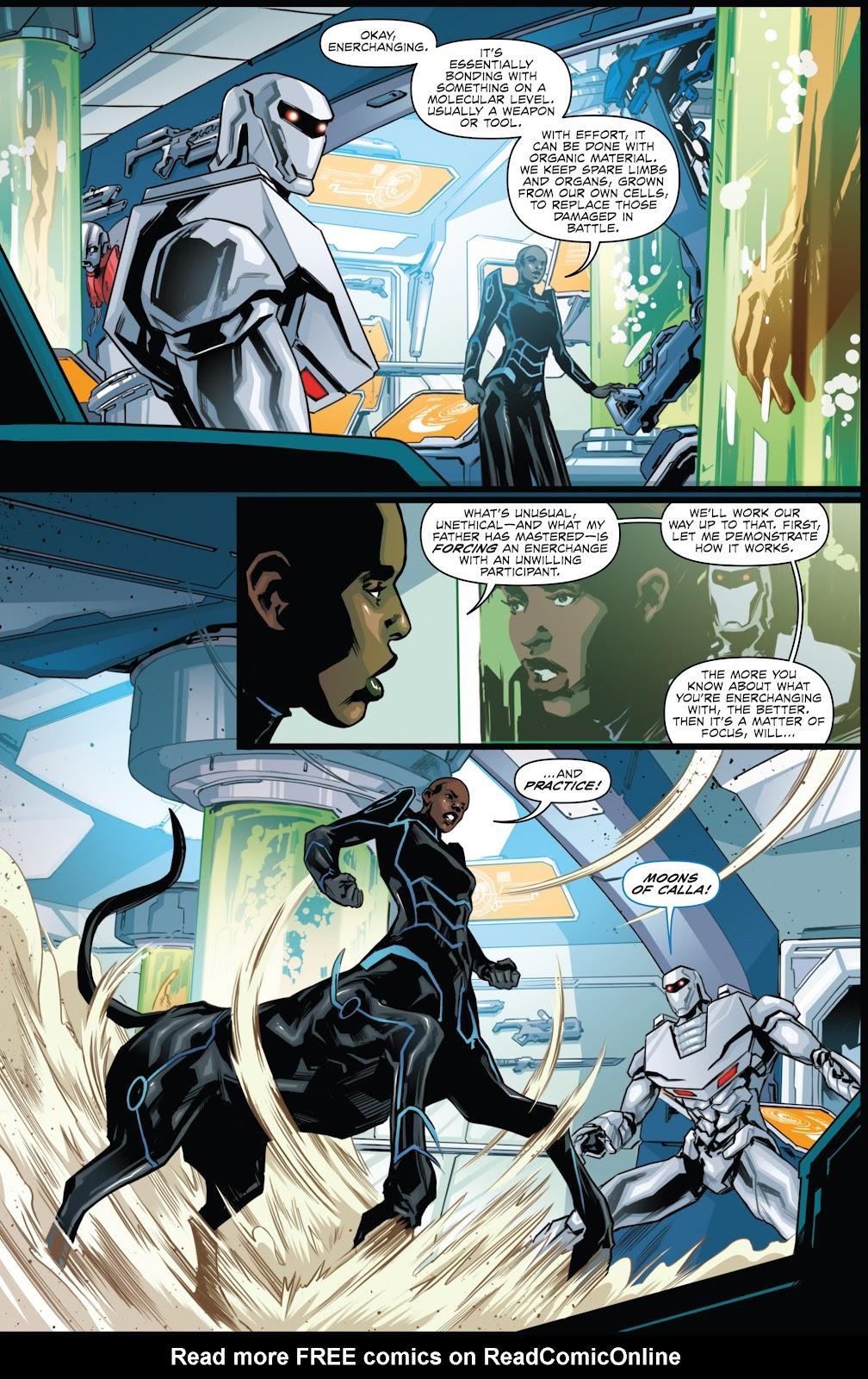 Comic Rom & the Micronauts issue 2