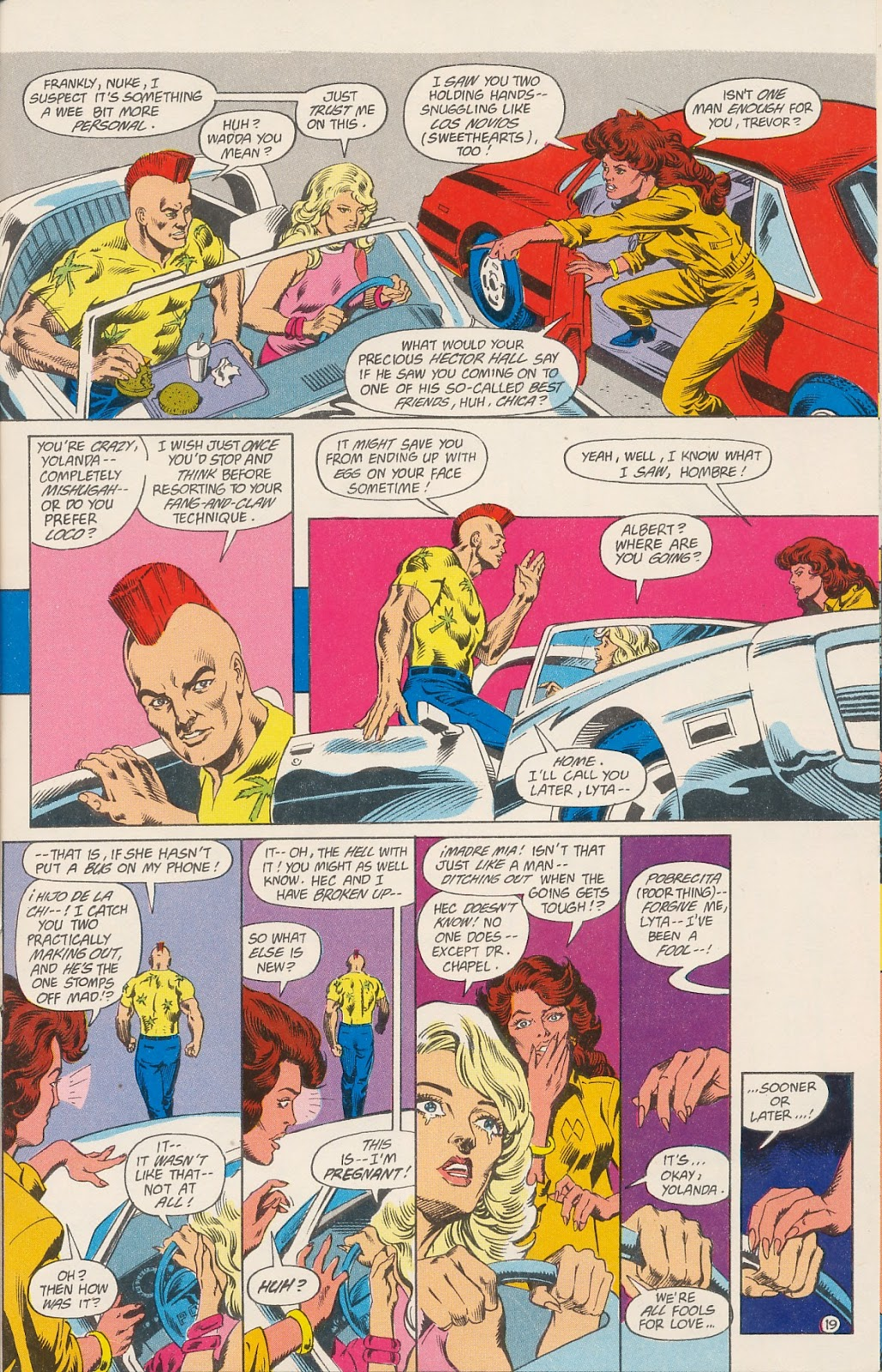 Infinity Inc. (1984) issue 40 - Page 21