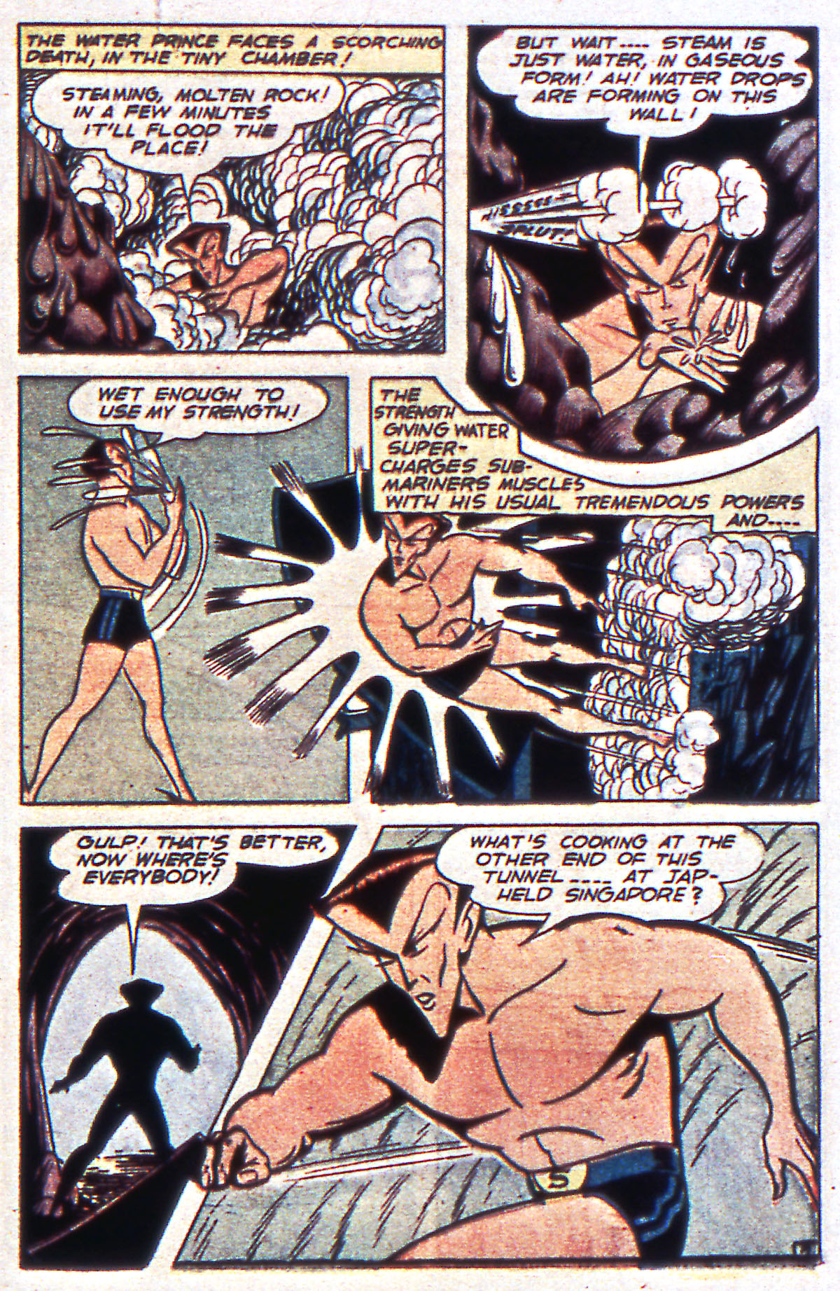 Read online All-Winners Comics comic -  Issue #12 - 35