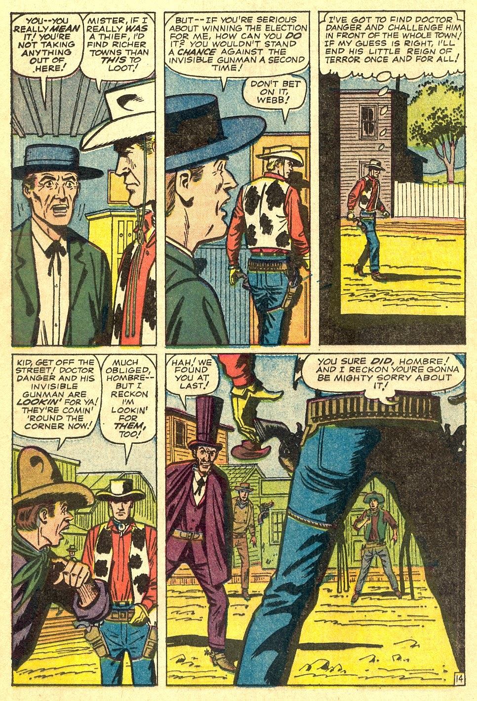 Kid Colt Outlaw issue 116 - Page 20