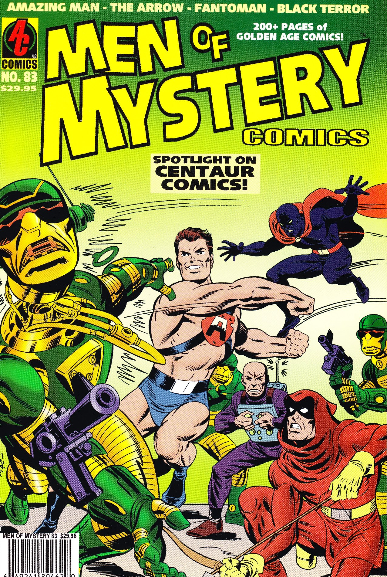 Read online Men of Mystery Comics comic -  Issue #83 - 1