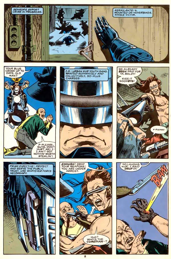 Read online Robocop (1990) comic -  Issue #1 - 3