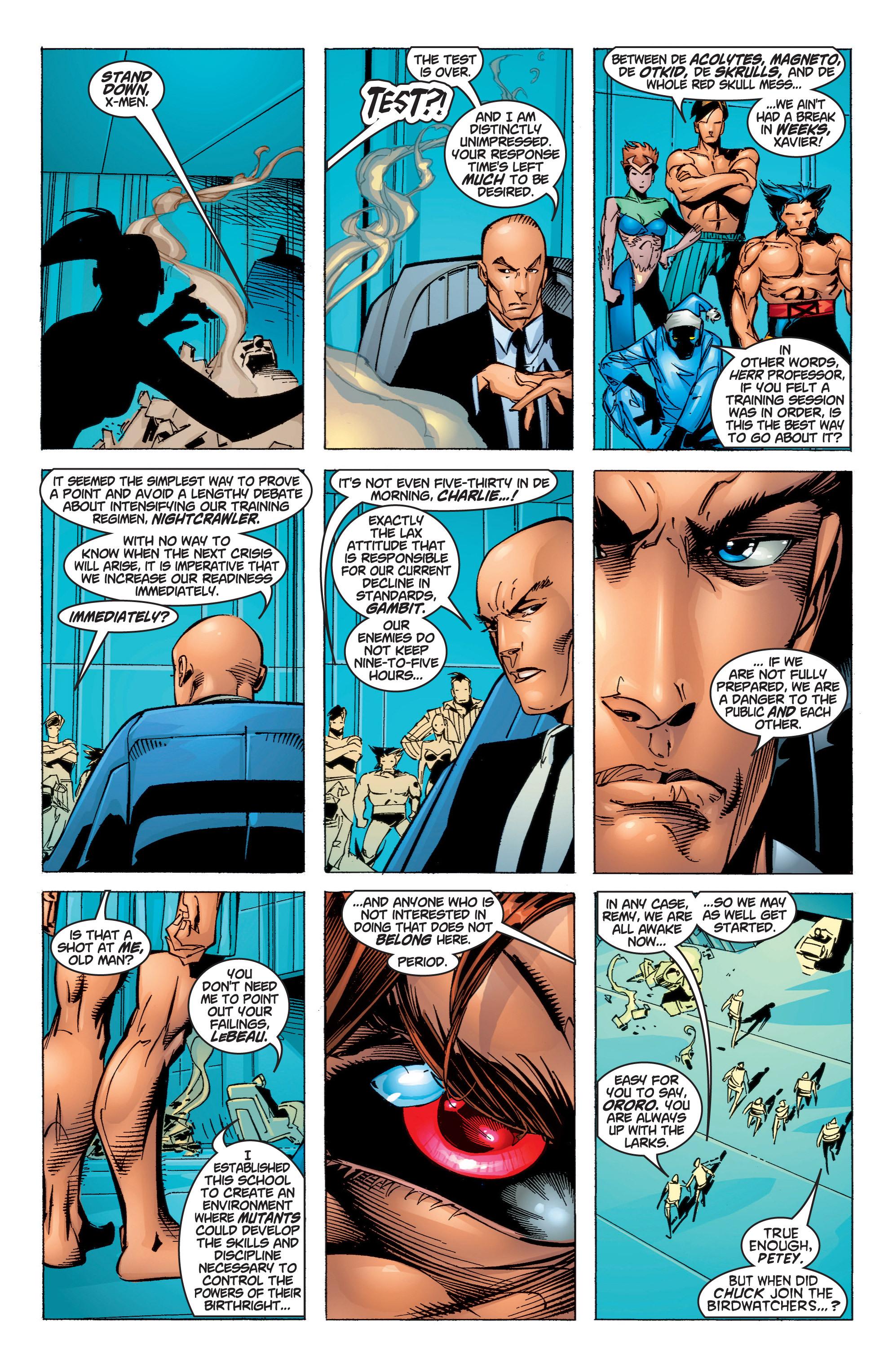 Read online Uncanny X-Men (1963) comic -  Issue #372 - 5
