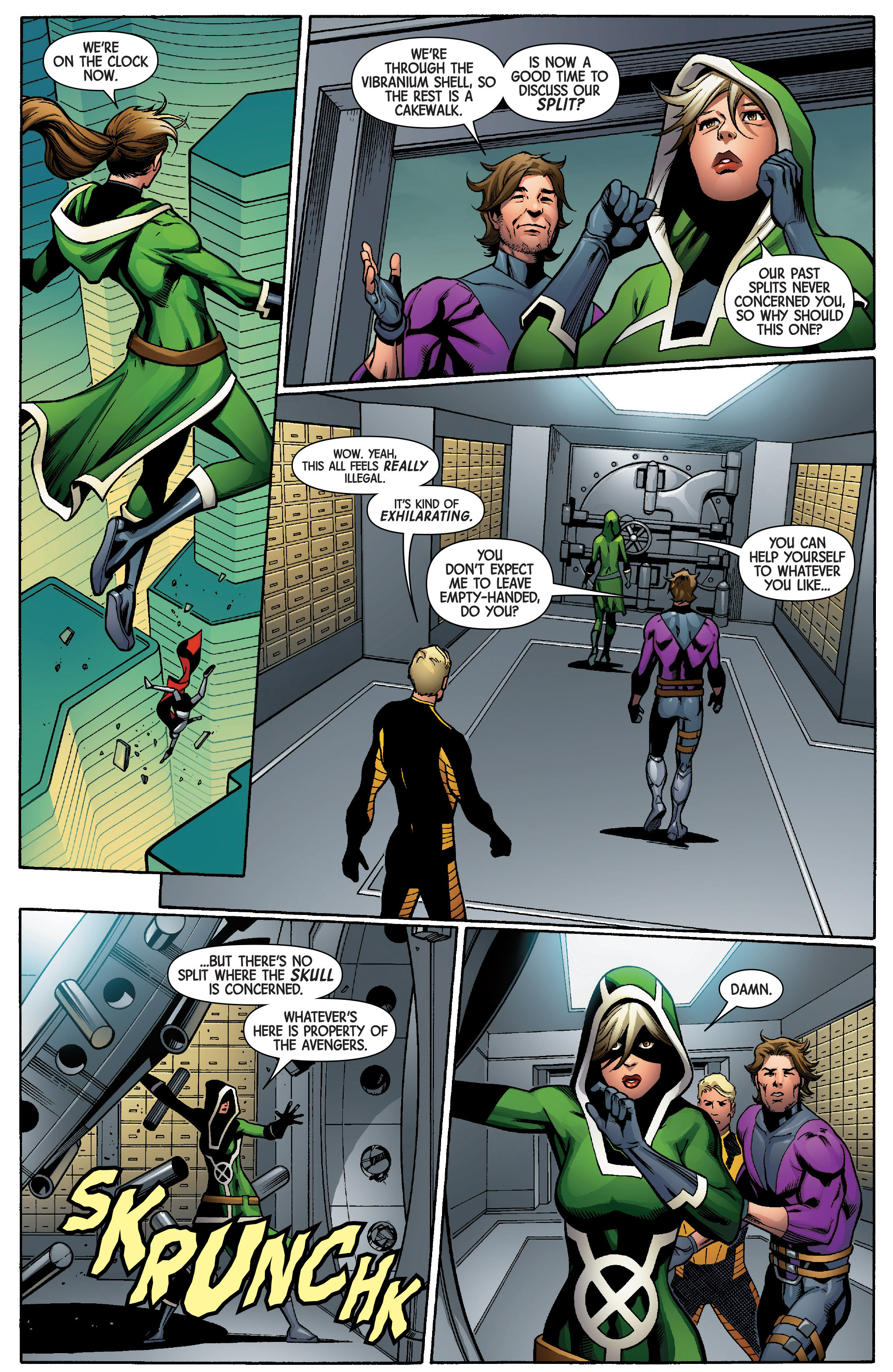 Read online Uncanny Avengers [II] comic -  Issue #5 - 17