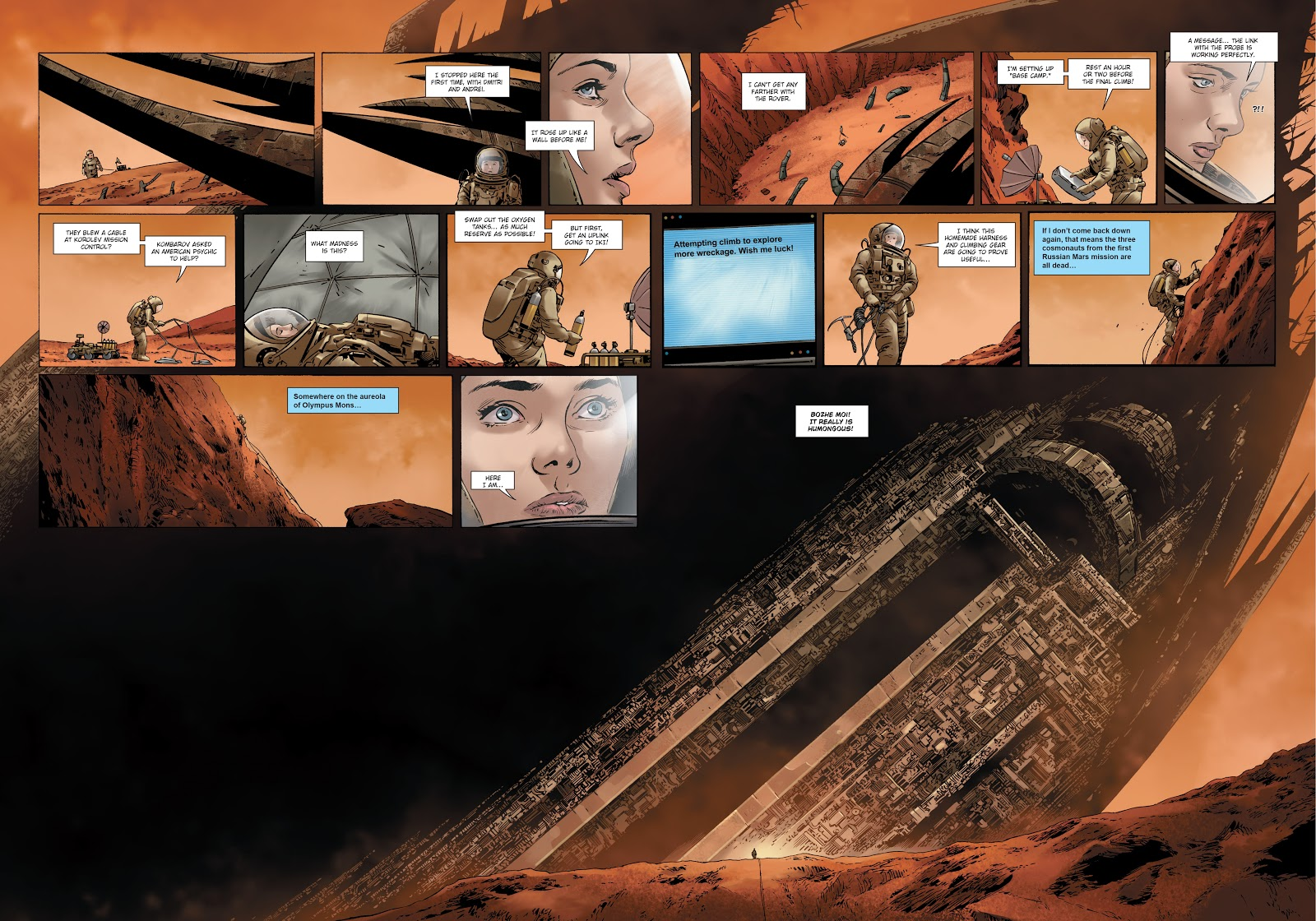 Read online Olympus Mons Vol. 1: Anomaly One comic -  Issue #4 - 27
