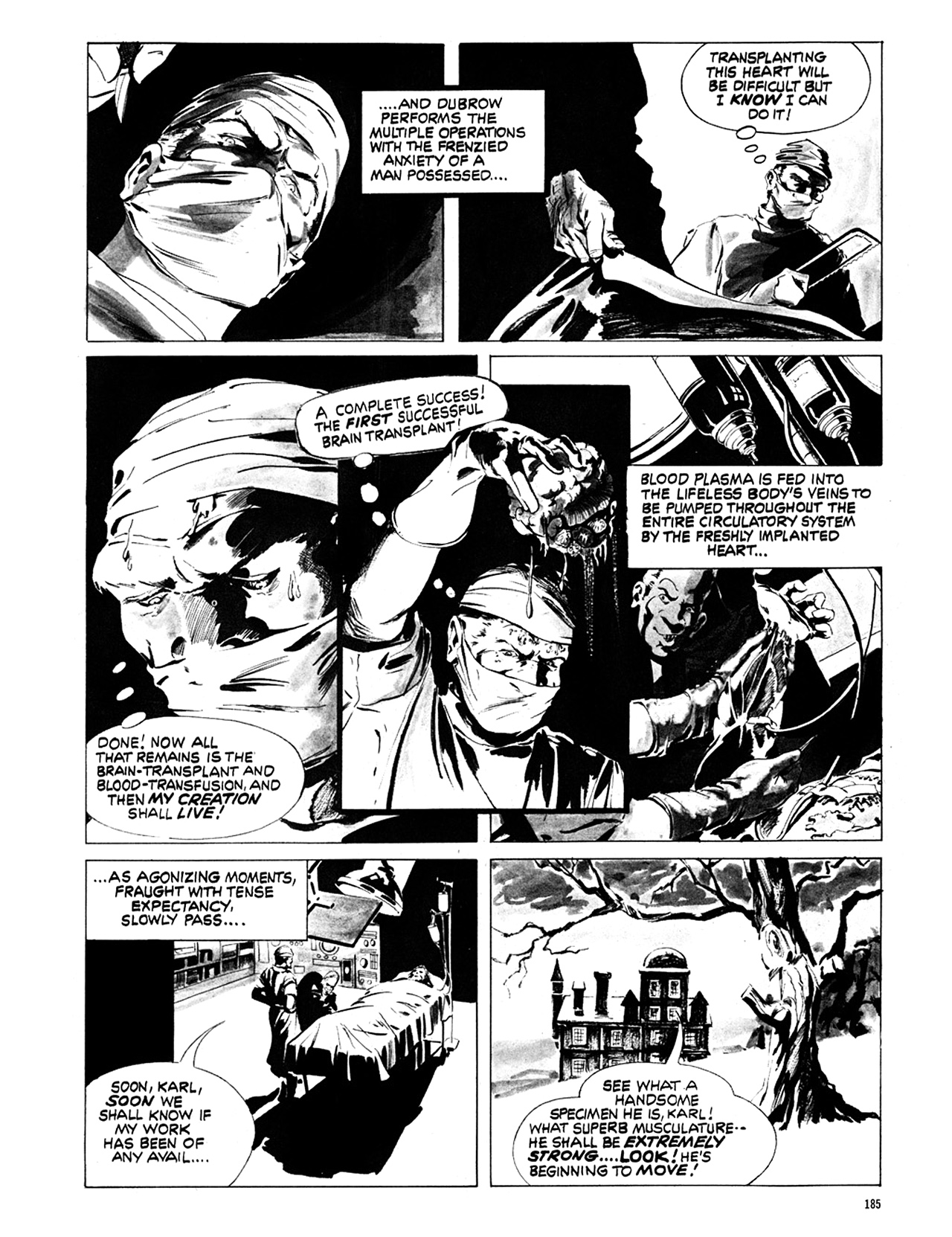 Read online Eerie Archives comic -  Issue # TPB 6 - 185
