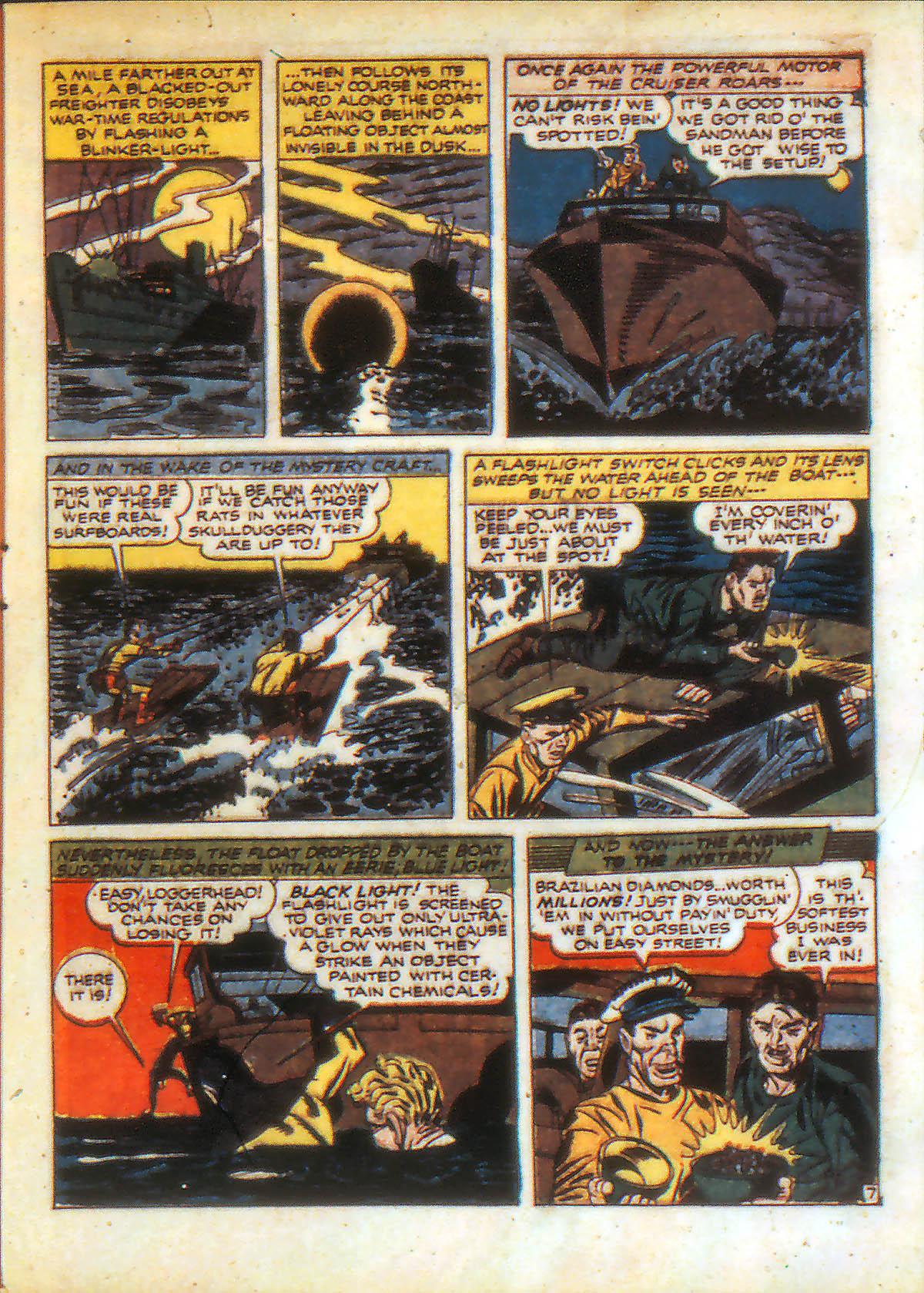 Read online Adventure Comics (1938) comic -  Issue #88 - 9