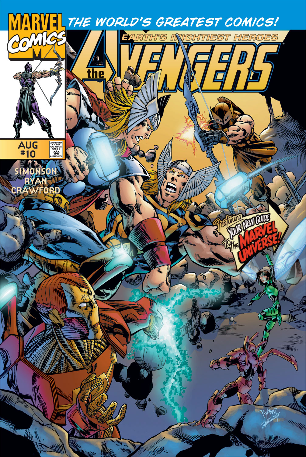 Read online Avengers (1996) comic -  Issue #10 - 1