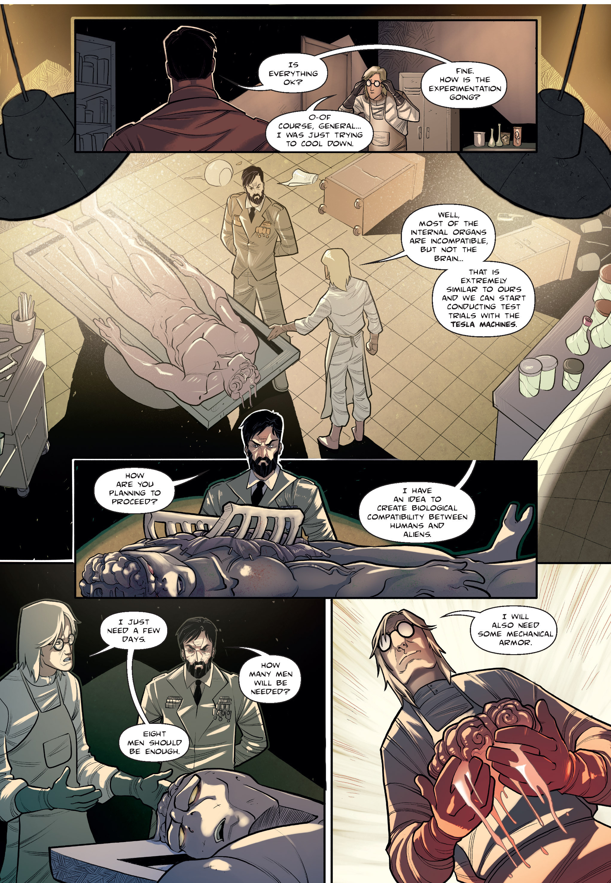 Read online The Shadow of a Terrible Thing comic -  Issue # TPB - 40