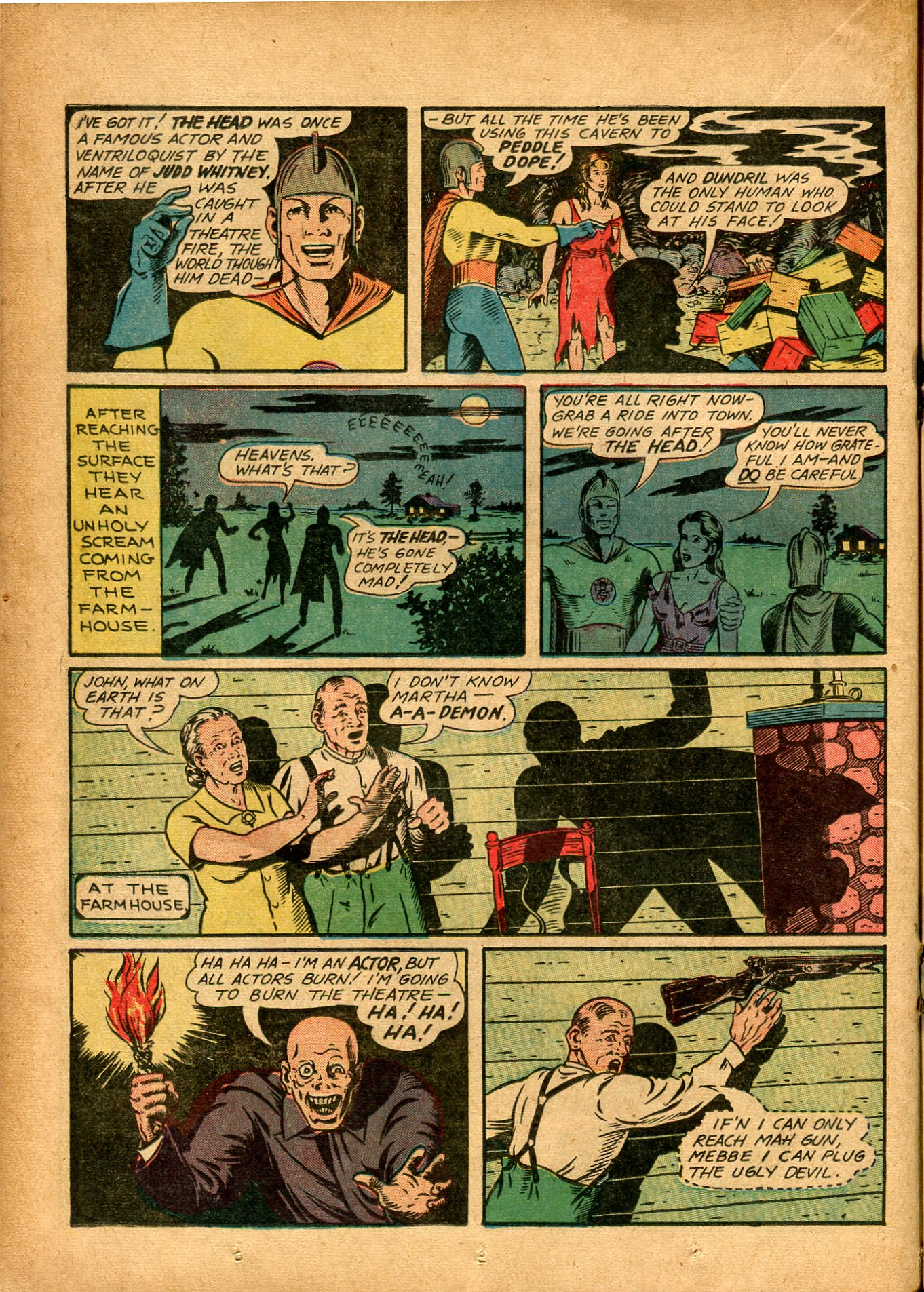 Read online Shadow Comics comic -  Issue #8 - 32