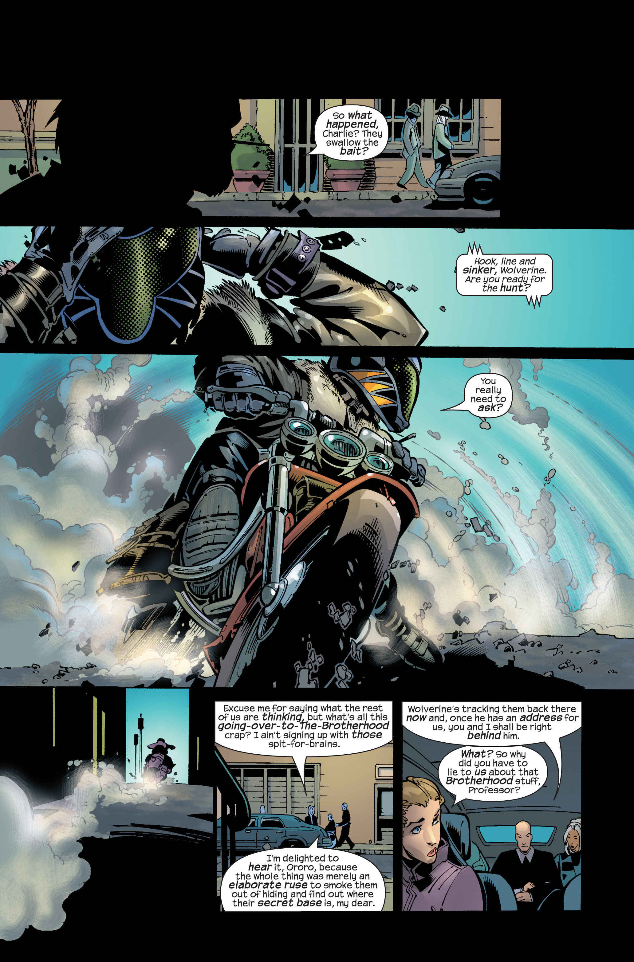 Read online Ultimate War comic -  Issue #3 - 18