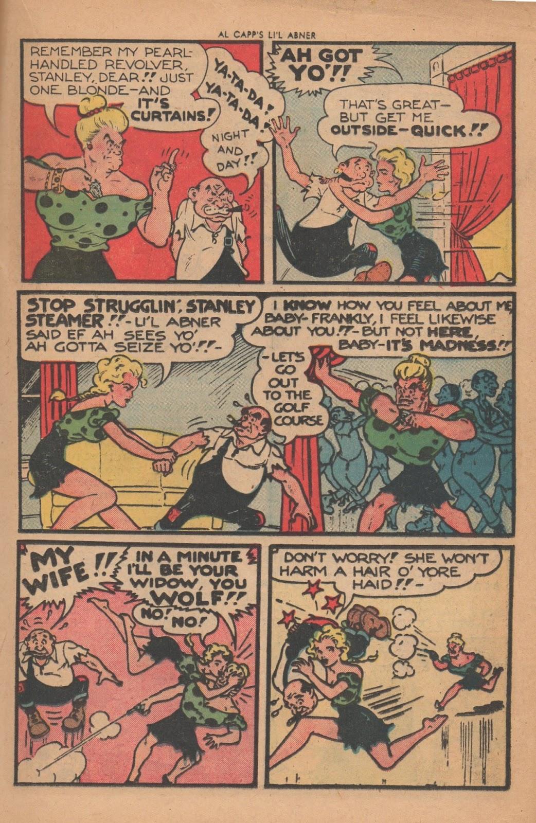 Li'l Abner Comics issue 77 - Page 17