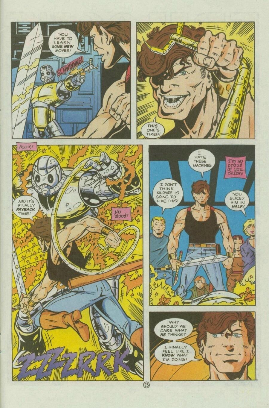 Read online Ex-Mutants comic -  Issue #9 - 29