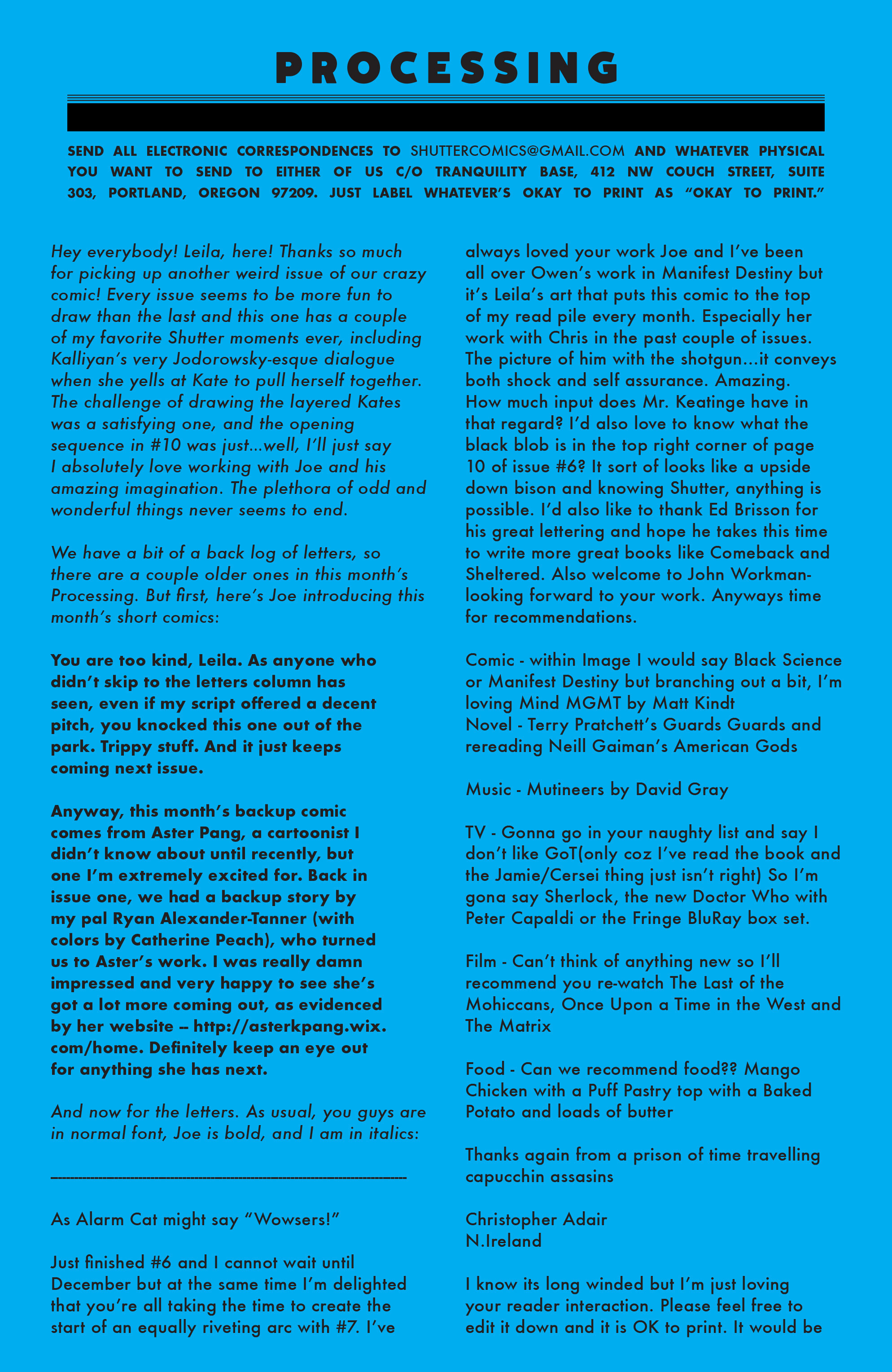Read online Shutter comic -  Issue #10 - 21