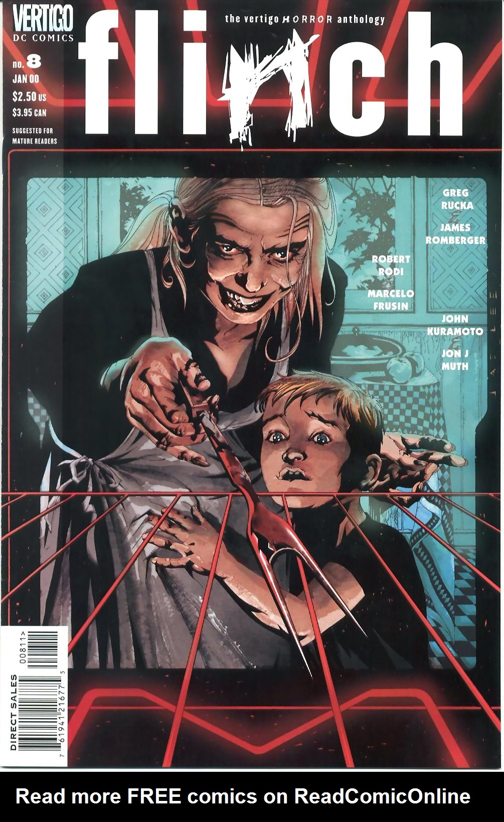 Read online Flinch comic -  Issue #8 - 1