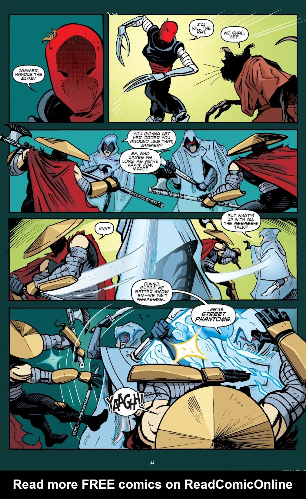 Read online Teenage Mutant Ninja Turtles: The IDW Collection comic -  Issue # TPB 7 (Part 1) - 44