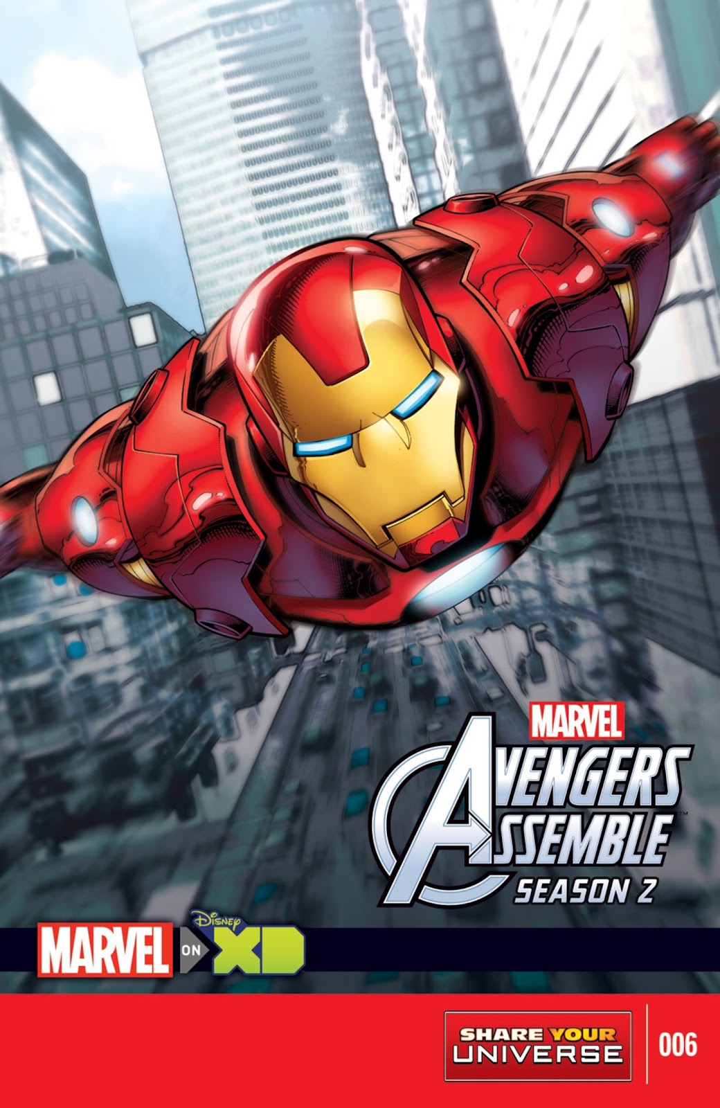 Read online Marvel Universe Avengers Assemble Season 2 comic -  Issue #6 - 1