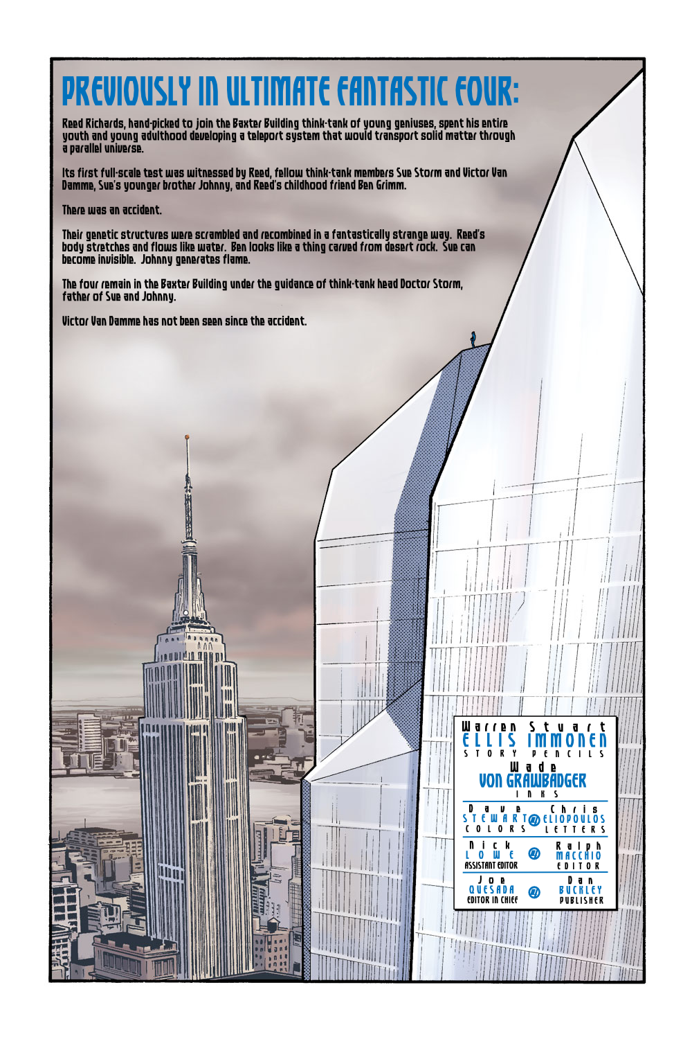 Read online Ultimate Fantastic Four (2004) comic -  Issue #7 - 2