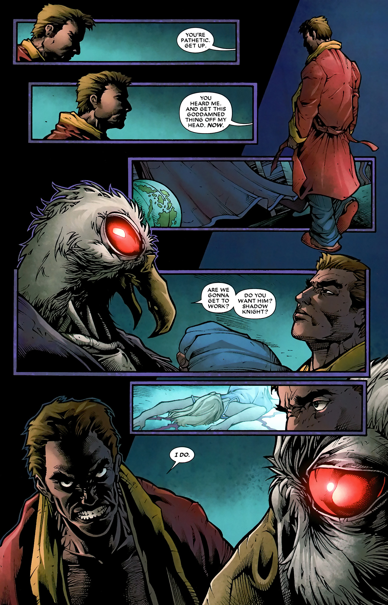 Read online Shadowland: Moon Knight comic -  Issue #3 - 8