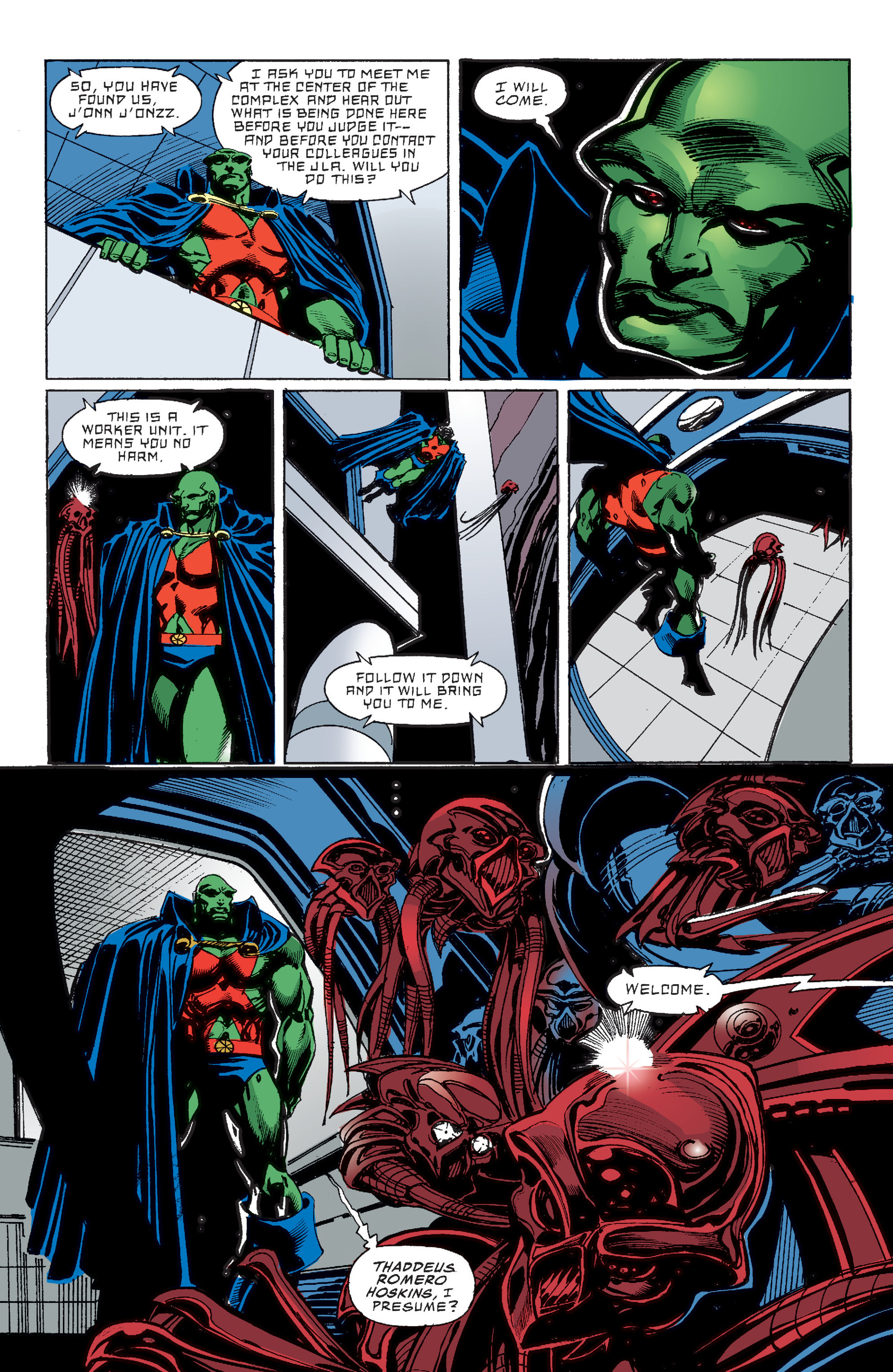 Read online Martian Manhunter: Son of Mars comic -  Issue # TPB - 46