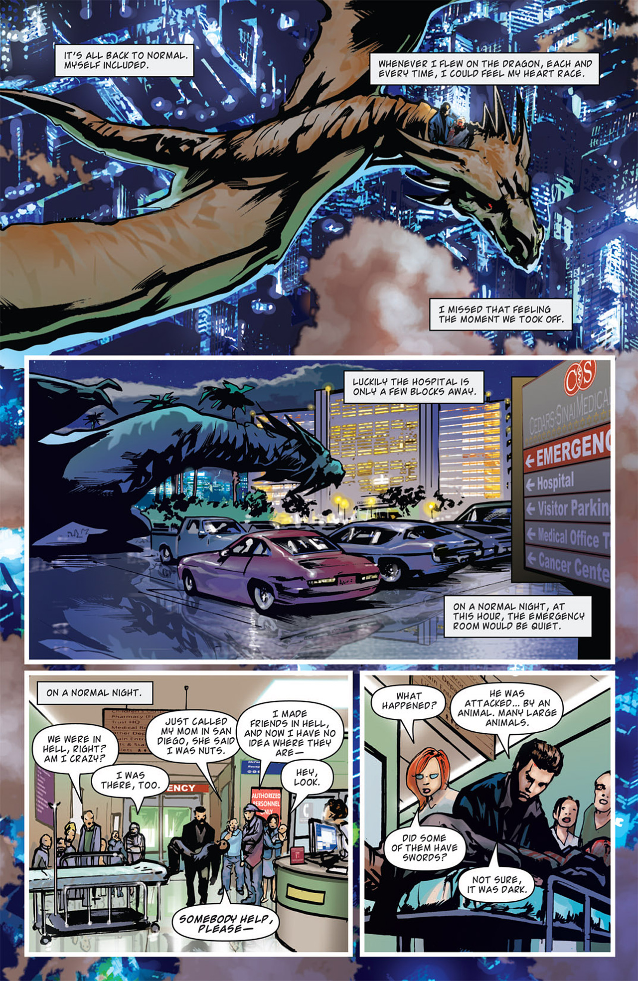 Read online Angel: After The Fall comic -  Issue #16 - 22