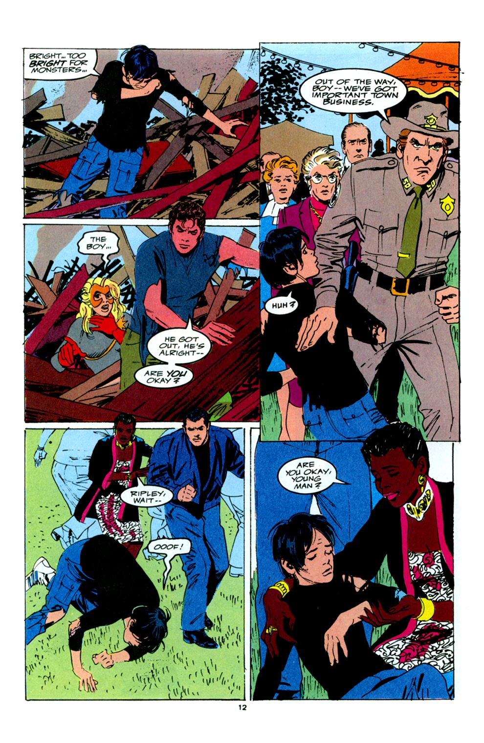 Read online Powerline comic -  Issue #6 - 14